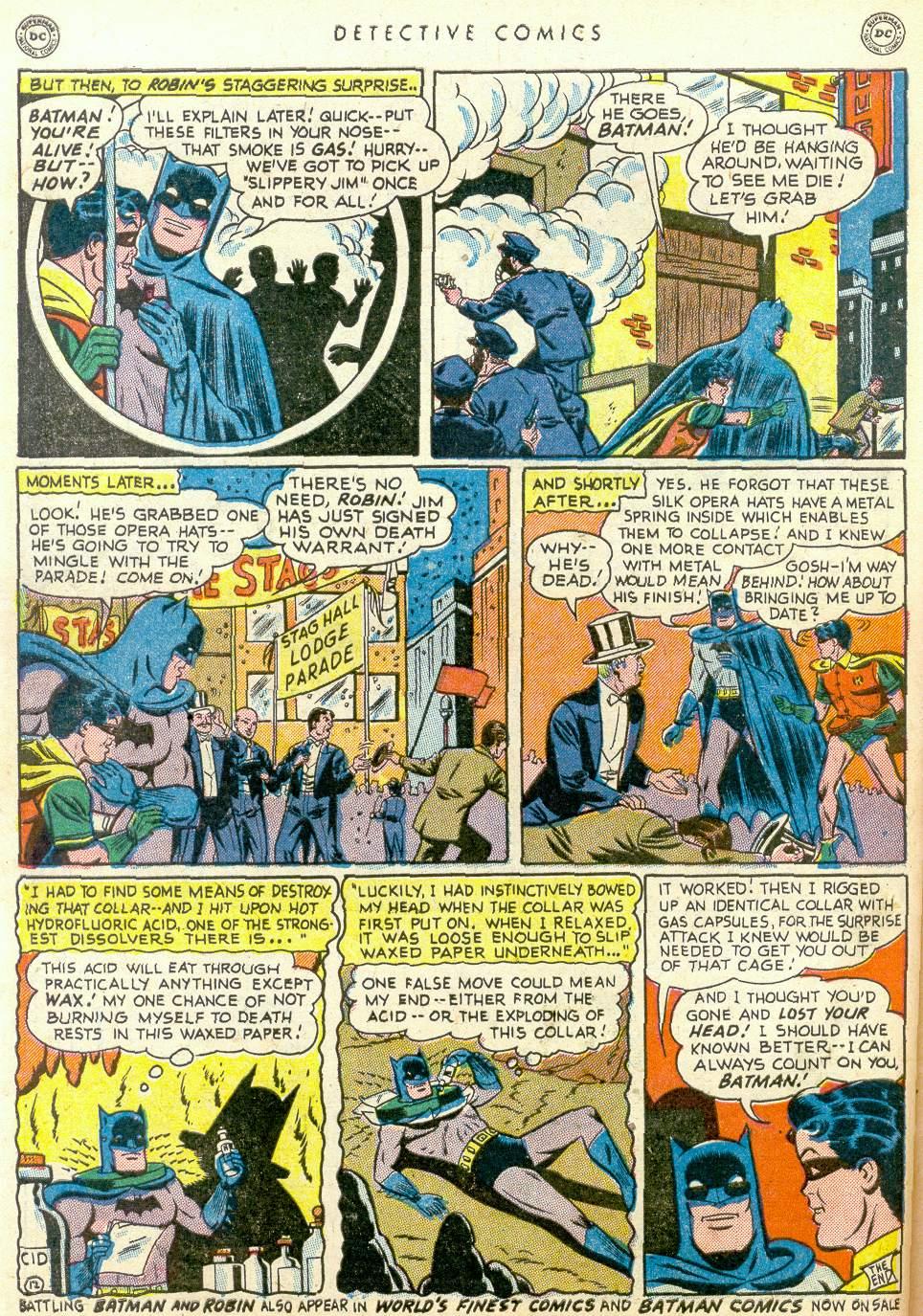 Read online Detective Comics (1937) comic -  Issue #163 - 13