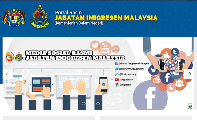 Rasmi - Jawatan Kosong (IMI) Jabatan Imigresen Malaysia Terkini 2019