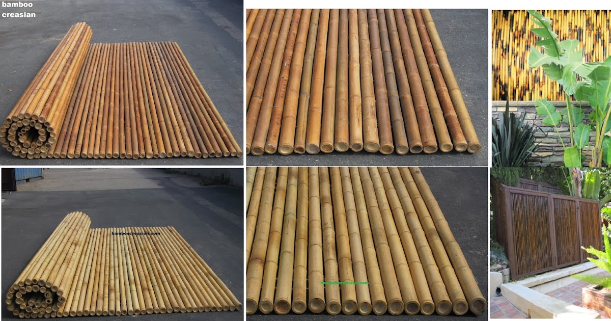 Quality Bamboo And Asian Thatch Bamboo Fences Bamboo