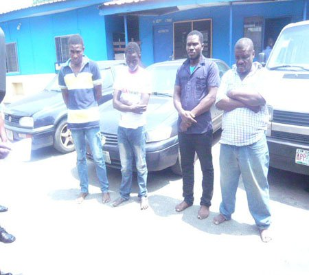 car robbery gang arrested lagos