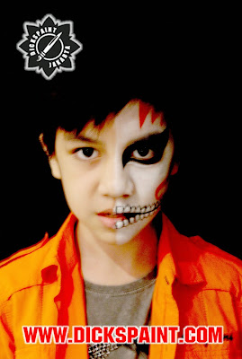 face painting horror kids jakarta