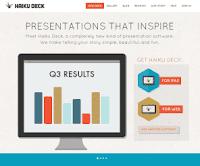 template web keren untuk presentasi alternatif powerpoint
