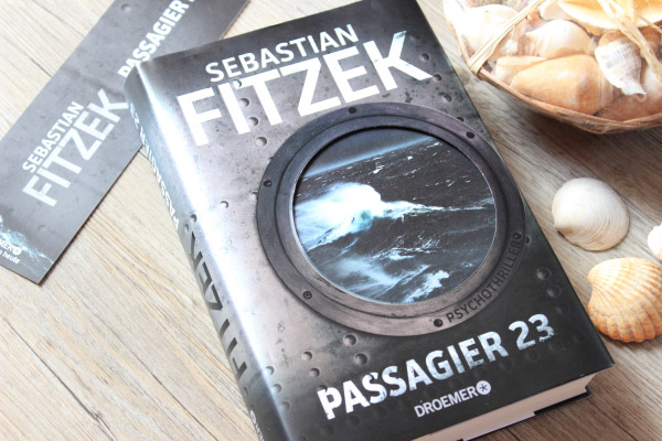 Rezension Passagier 23, Sebastian Fitzek, Buchempfehlung, Passagier 23, Buchblogger