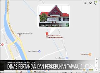 Alamat Dinas Pertanian dan Perkebunan Kabupaten Tapanuli Utara