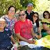 Encontro entre amigos no sítio da Ex-Prefeita Belezinha