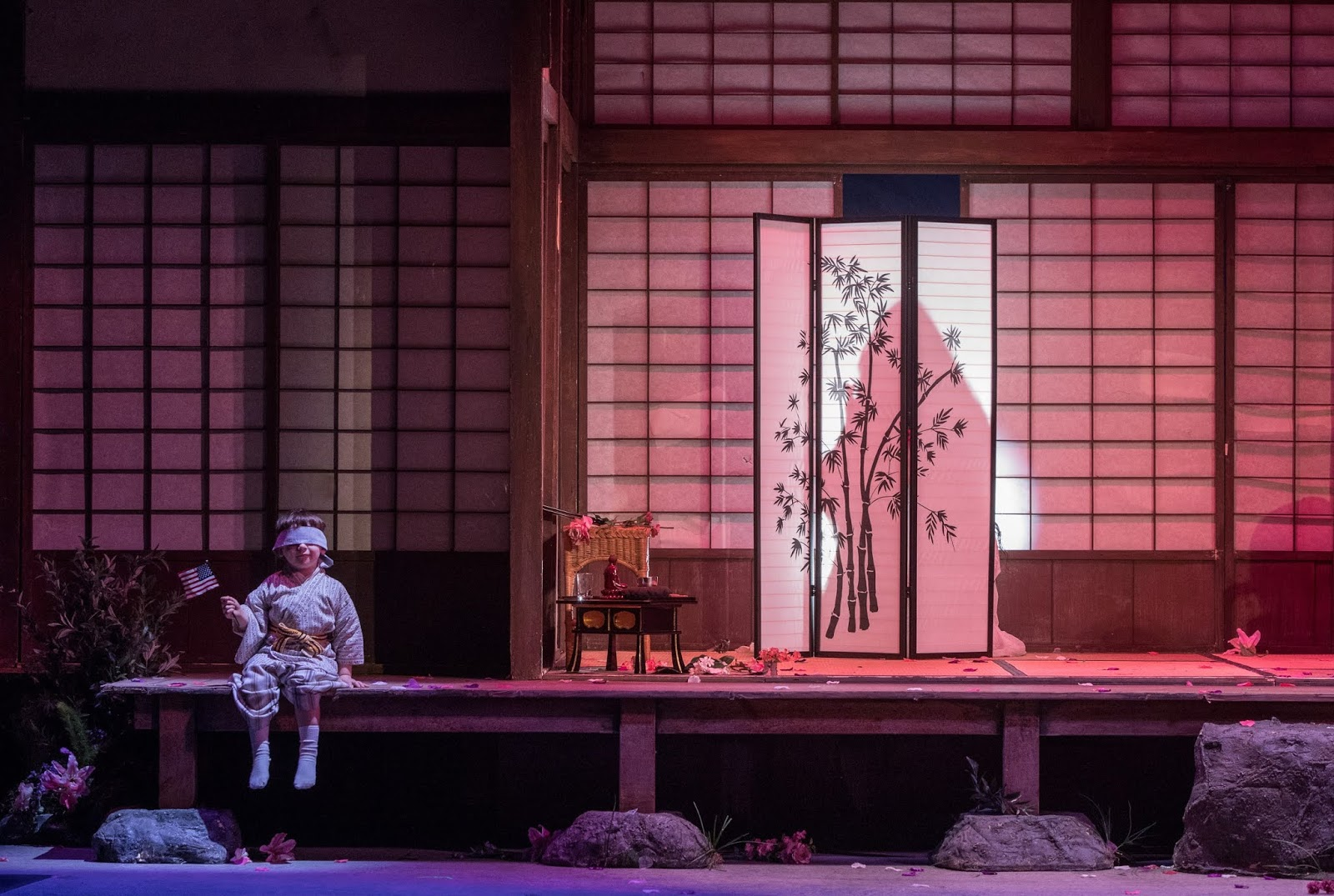 IN PERFORMANCE: SAMUEL PERSHALL as Dolore in Greensboro Opera's production of Giacomo Puccini's MADAMA BUTTERFLY, 9 November 2018 [Photo by Vanderveen Photography, © by Greensboro Opera]