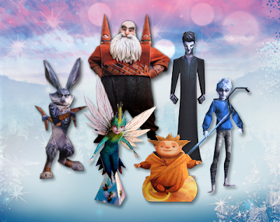 Rise of the Guardians Papercraft