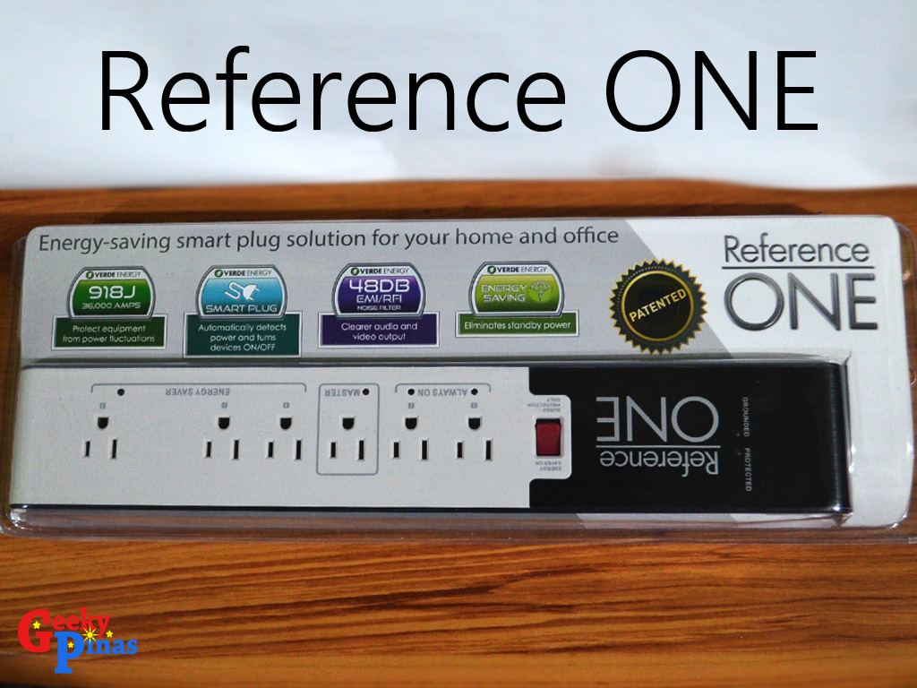 Reference ONE: An Energy Saving Smart Plug for Home and Office