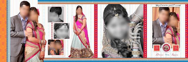 Indian Wedding Photo Album Design 12X36
