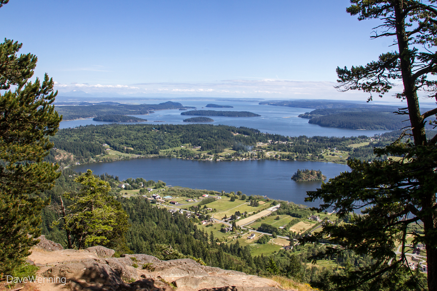 South Fidalgo Island from Mount Erie