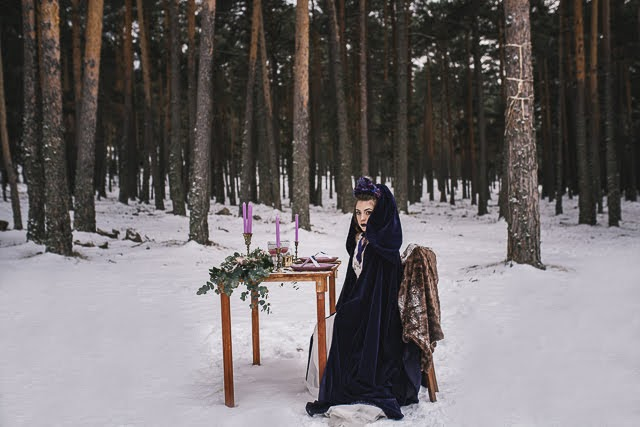 Reina de las Nieve, Bodas Nieve Ultraviolet