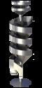 Single Spiral Separator