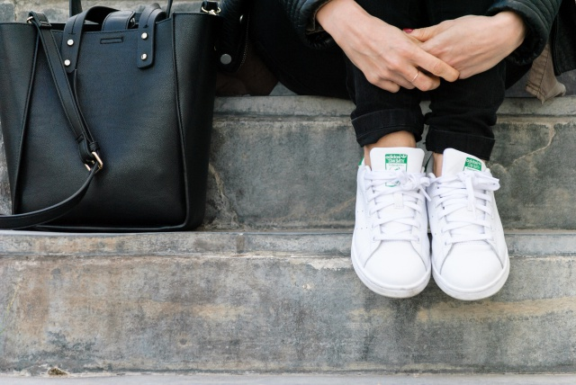 Stan Smith look
