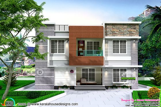 Contemporary house by Ameer Muhammed S