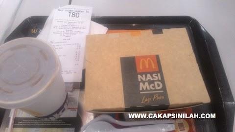 Food Review: Nasi Mc.D