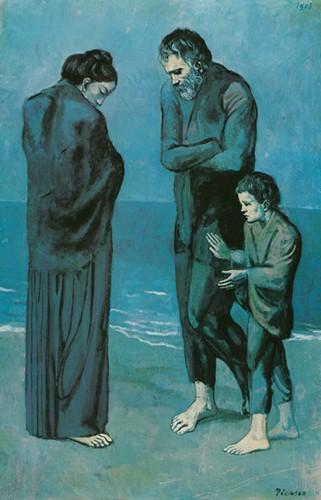 Pablo Picasso Blue Period 39