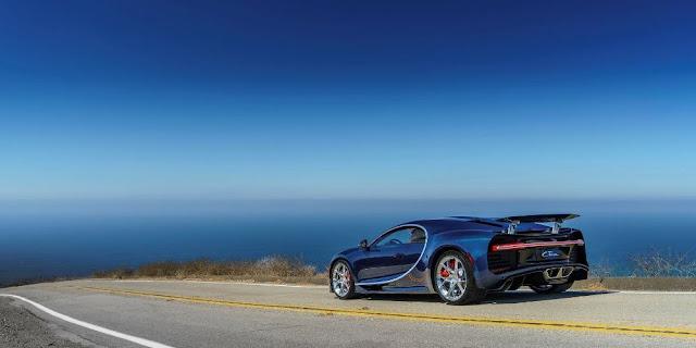Estilo aerodinámico y potencia se concentran en el Bugatti Chiron