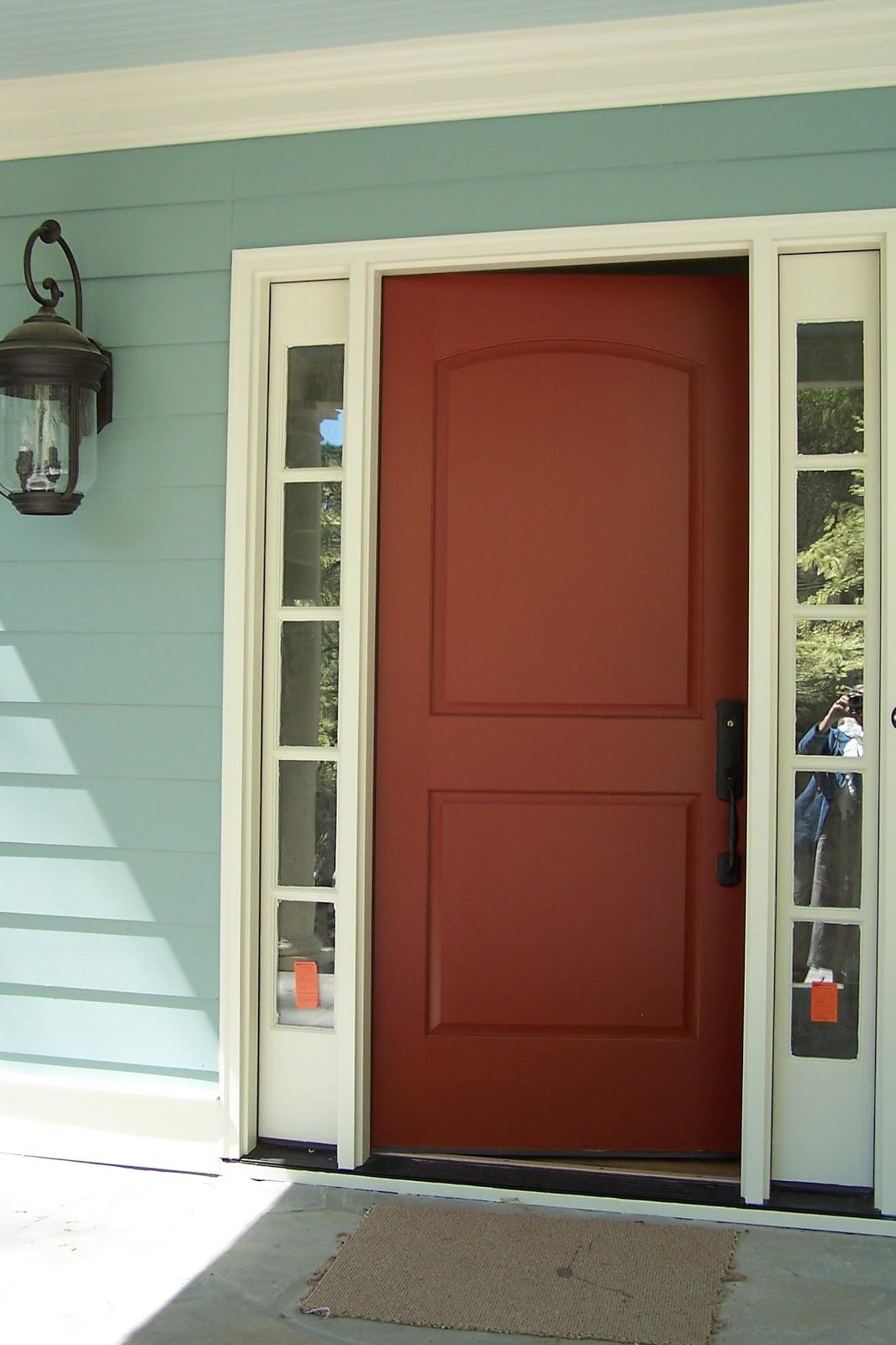 Exterior Door Colors: TARA DILLARD: Choosing A Front Door Color