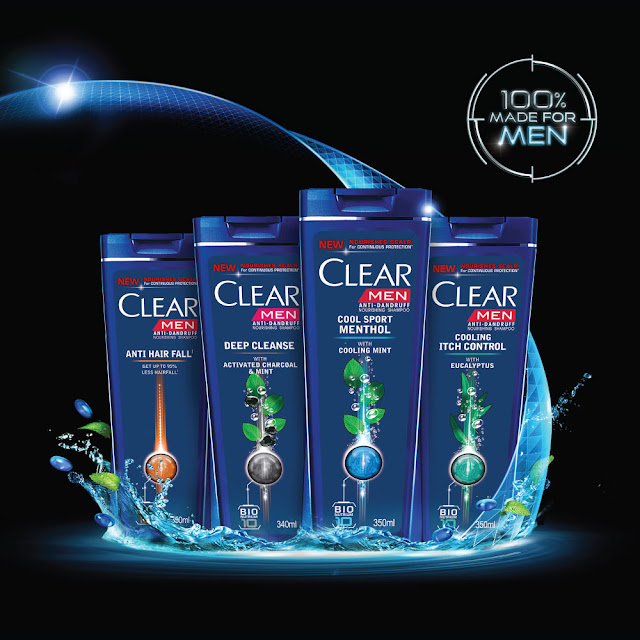 Clear Shampoo Anti Ketombe