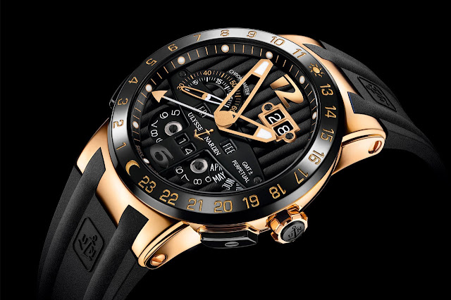 Ulysse Nardin Black Toro Automatic Watch
