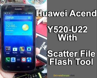 Huawei Y520-U22 Stock Firmware