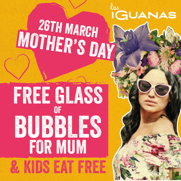 5 Free(ish) Things to Enjoy on Mothers Day in the North East including Las Iguanas