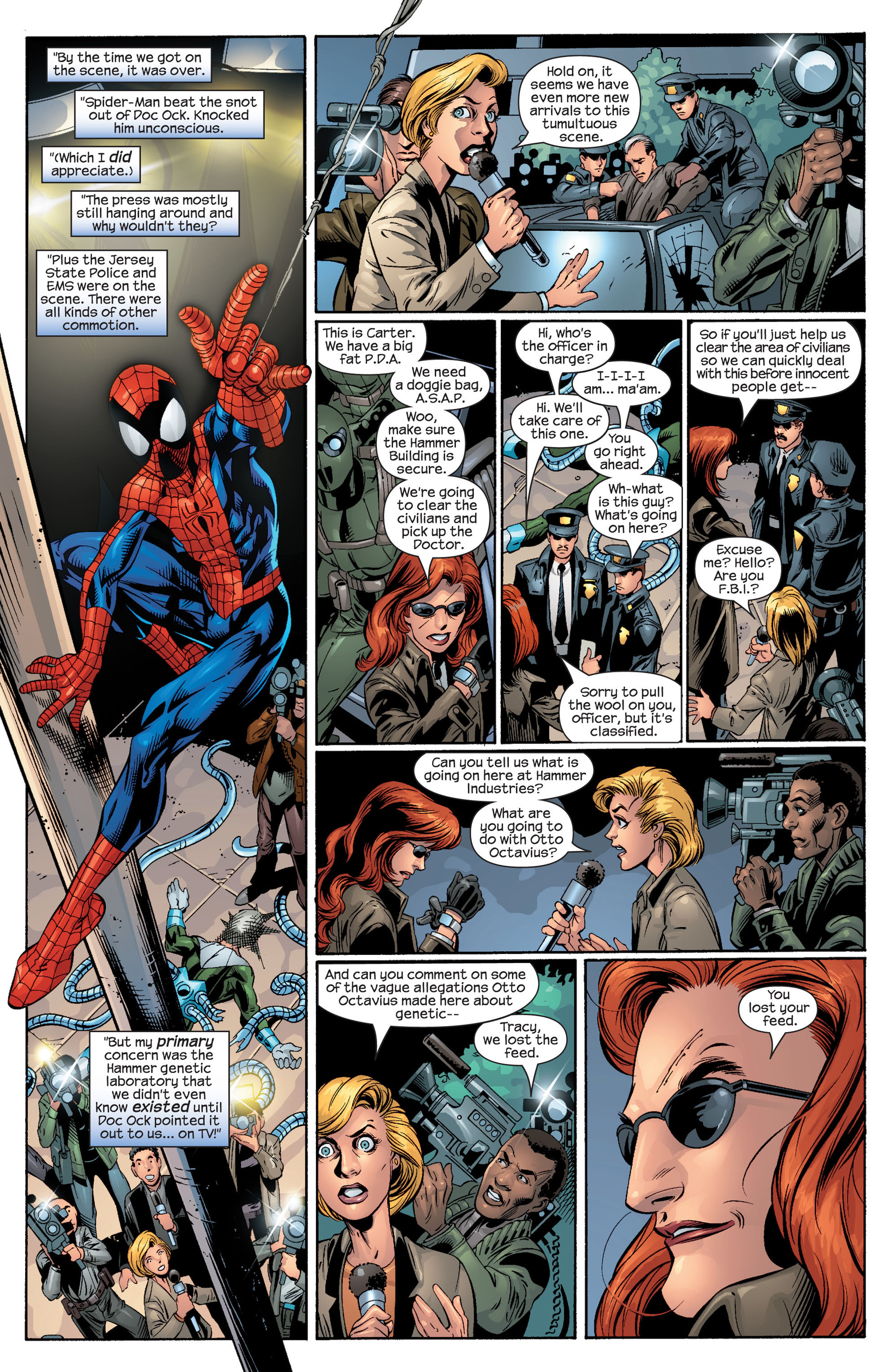 Read online Ultimate Spider-Man (2000) comic -  Issue #46 - 7