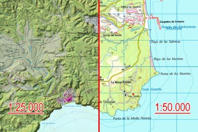 Mapas escala
