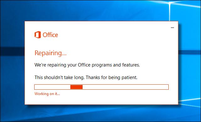 كيفية فحص وإصلاح جميع مشاكل حزمة مايكروسوفت أوفيس في الويندوز