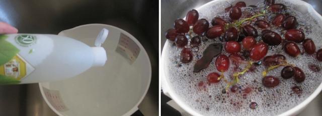 Testimoni Cuci Anggur dengan Basic H Jadi Segar