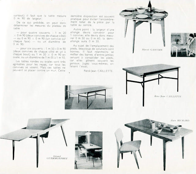 art utile palmar s salon des arts m nagers 1956. Black Bedroom Furniture Sets. Home Design Ideas