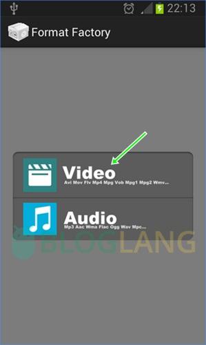 Merubah format video di Android