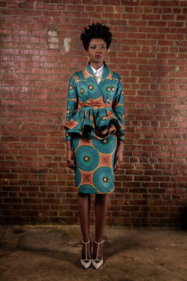work clothes: Demesticks  NY African print , ciaafrique ,african fashion, african dress styles,kitenge designs , african styles, african style dresses , african style, african dresses
