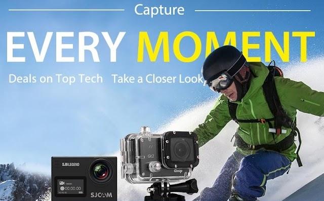 ¡Gearbest ha rebajado de precio las mejores cámaras de acción y gafas VR!