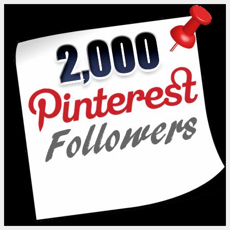 Buy 2000 Pinterest Followers