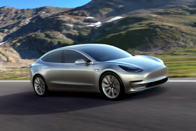 Tesla Releases Model 3 Its Electric Car for the Masses