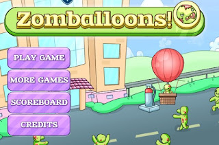 Play Free Zomballoons Awesome and Interesting Action Online Games