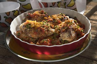 فيليه الدجاج المكسيكي - مطبخ منال العالم