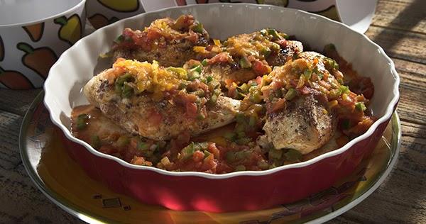 طريقة عمل فيليه الدجاج المكسيكي - مطبخ منال العالم
