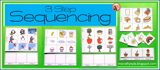 sequence cards 3 step