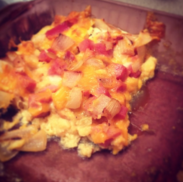 Obtainable Table: Egg And Bread Crumb Casserole (Egg Bake