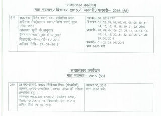 UPPSC Interview dates
