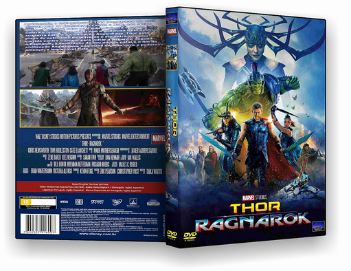DVD – Thor Ragnarok 2018 – ISO