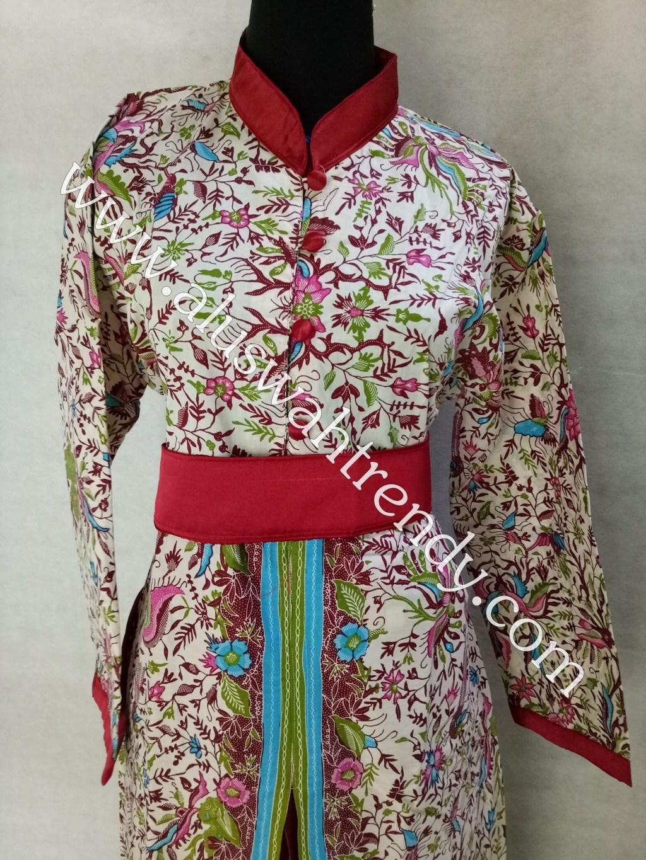 Kemeja Batik Sarimbit 013 Bahan Katun