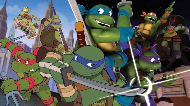 Las Tortugas Ninja de los '80s se reunirá con los de hoy en día en el episodio viaje en el tiempo