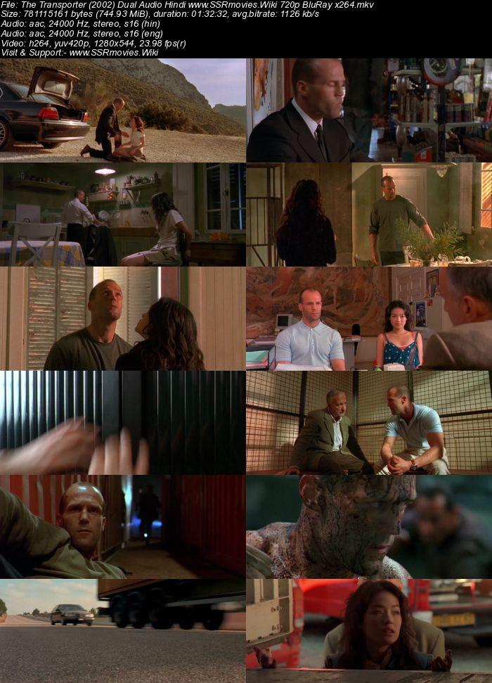 The Transporter (2002) Dual Audio Hindi 480p BluRay x264 300MB Movie Download
