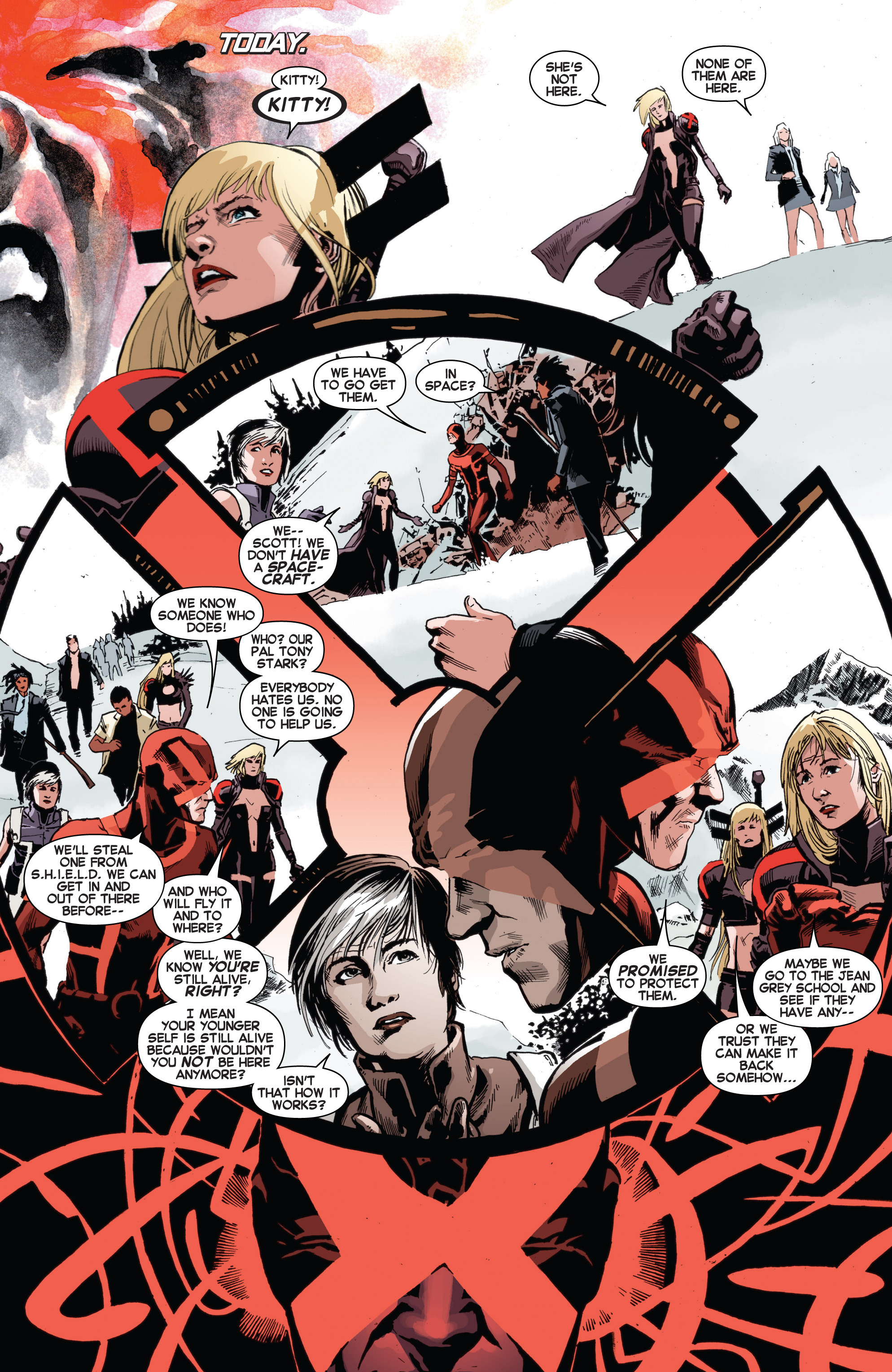 Read online Uncanny X-Men (2013) comic -  Issue # _TPB 3 - The Good, The Bad, The Inhuman - 103