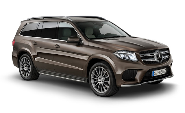 New 2016 Mercedes GLS 400 4MATIC side look SUV HD