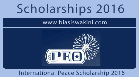 International Peace Scholarship 2016