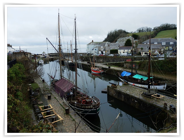 Charlestown Harbour, Cornwall and Poldark tall ships